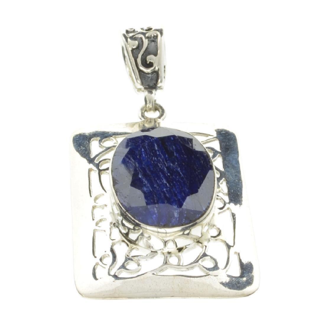 Fine Jewelry Designer Sebastian 13.60CT Oval Cut Blue