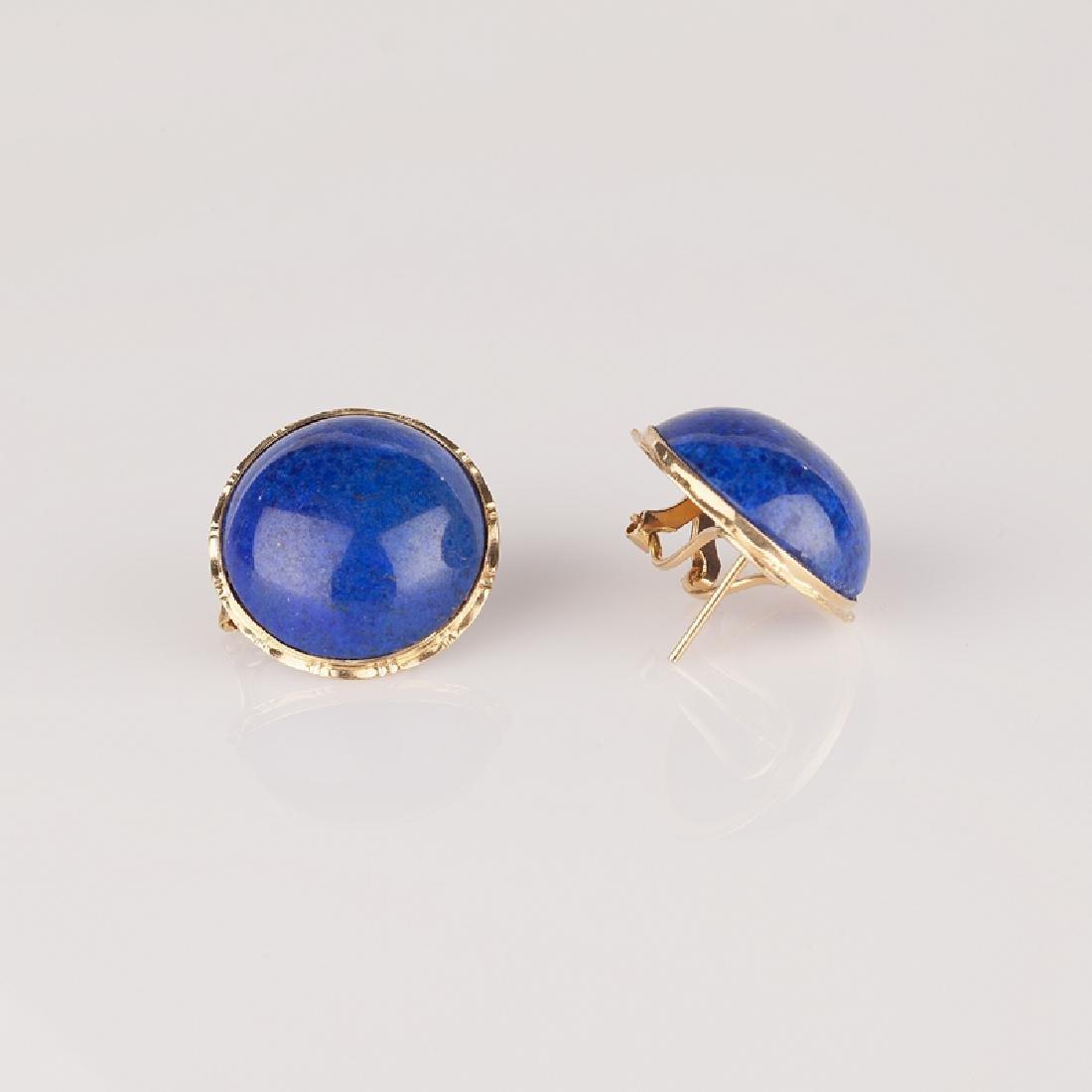 *Fine Jewelry 14 kt. Gold, New Custom Made, Lapis, One