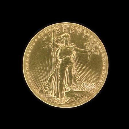 4860: 1910 $20 US Gold Coin, COLLECTORS' ITEM!!