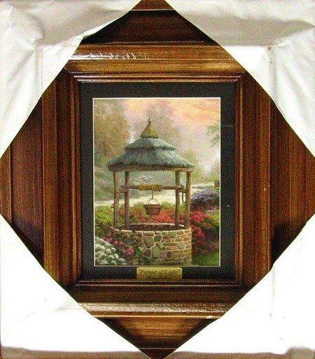 3526: GOV: Kinkade - Museum Framed Calendar Print