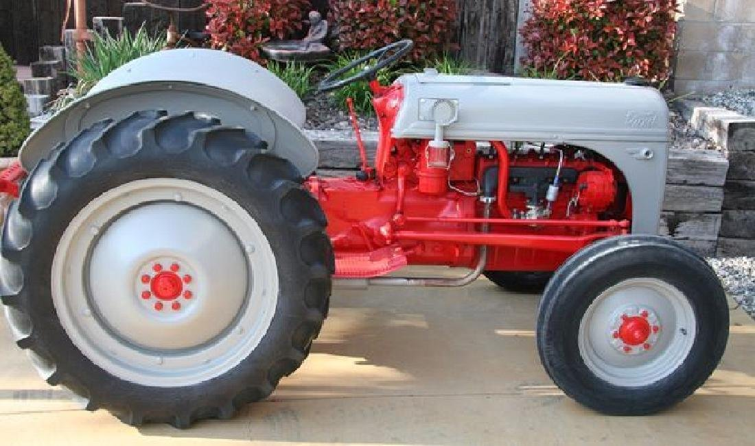 Rare 8 Ford Tractor Fully Restored Inside/Out - Pick Up - 3