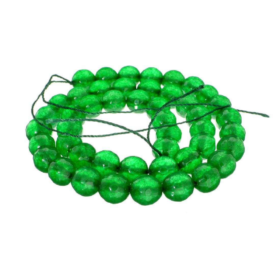 APP: 3.8k 165.00CT Round Cut Green Beryl Emerald Bead