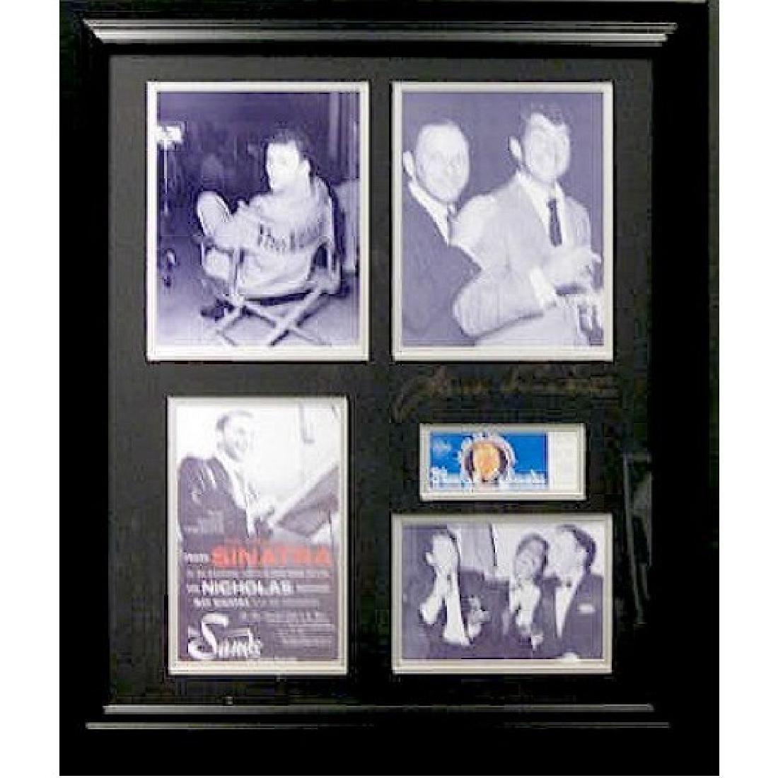 Frank Sinatra - Plate Signature