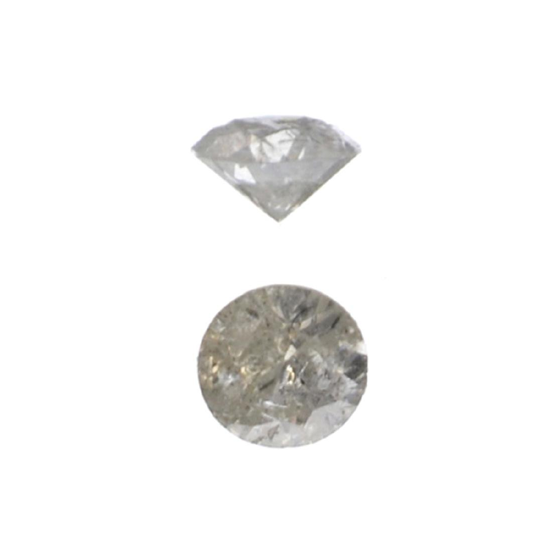 APP: 0.3k Fine Jewelry 0.13CT Round Brilliant Cut