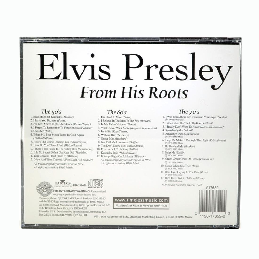 Elvis Presley From His Roots 3 CD Box Set - 2