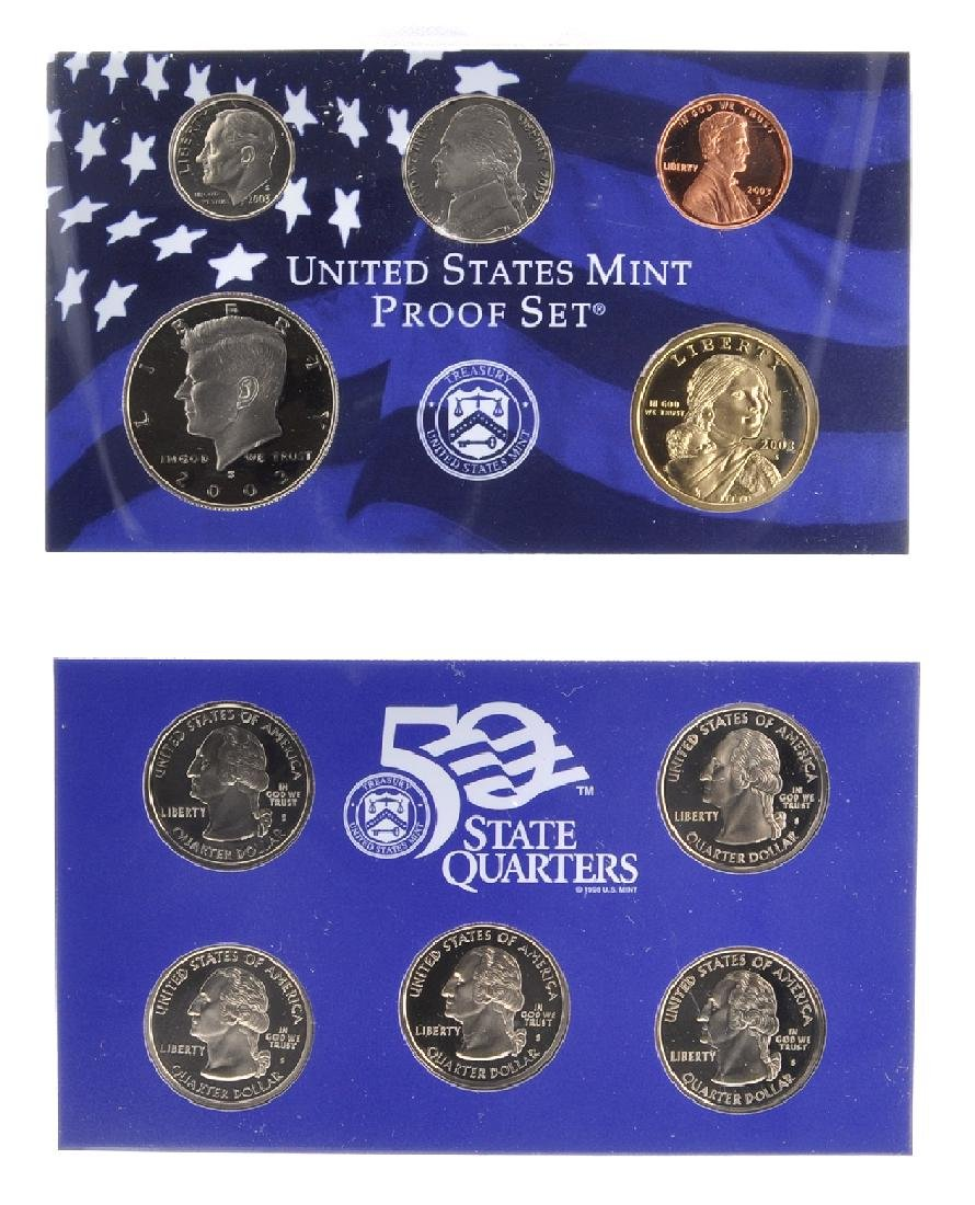 2003 United States Mint Proof Set Coin (2)