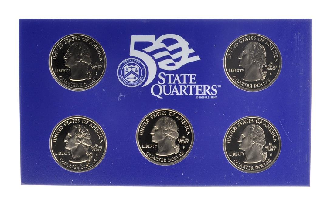 2001 United States Mint Proof Coin Set