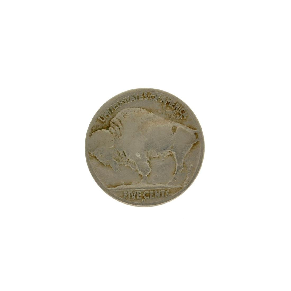 Rare 1937-D 3 Leg Buffalo Nickel Coin - 2