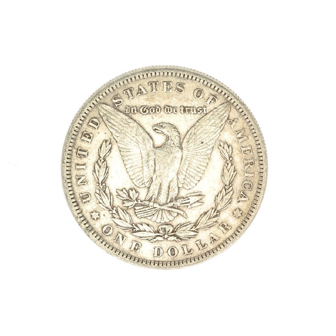 1884 U.S. Morgan Silver Dollar Coin - 2