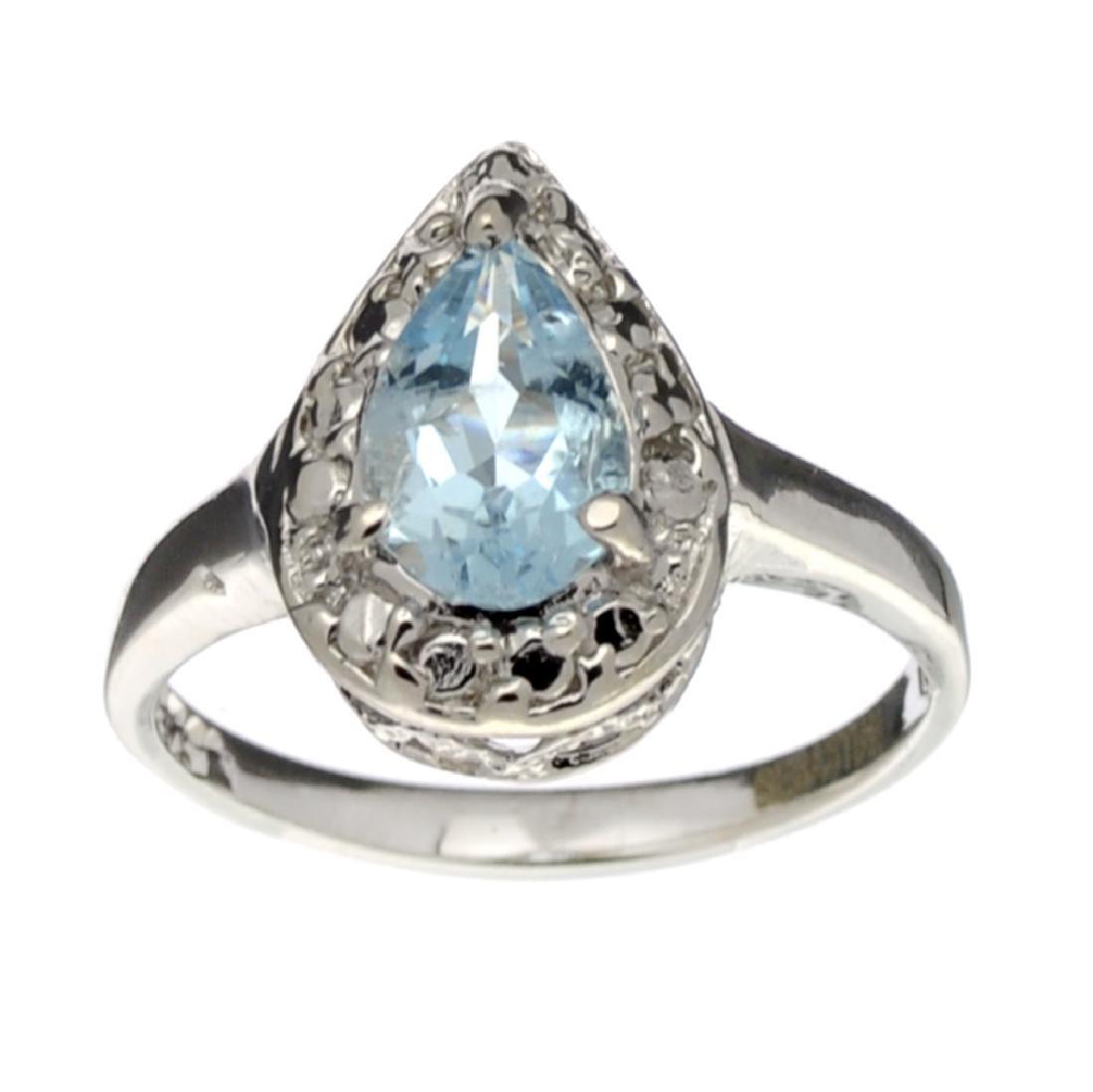 Fine Jewelry Designer Sebastian, Aquamarine And White