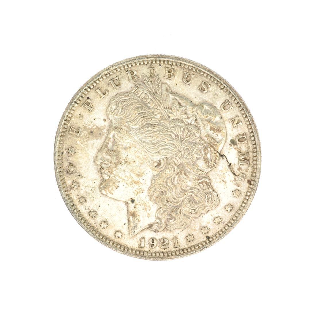 Rare 1921 U.S. Morgan Silver Dollar