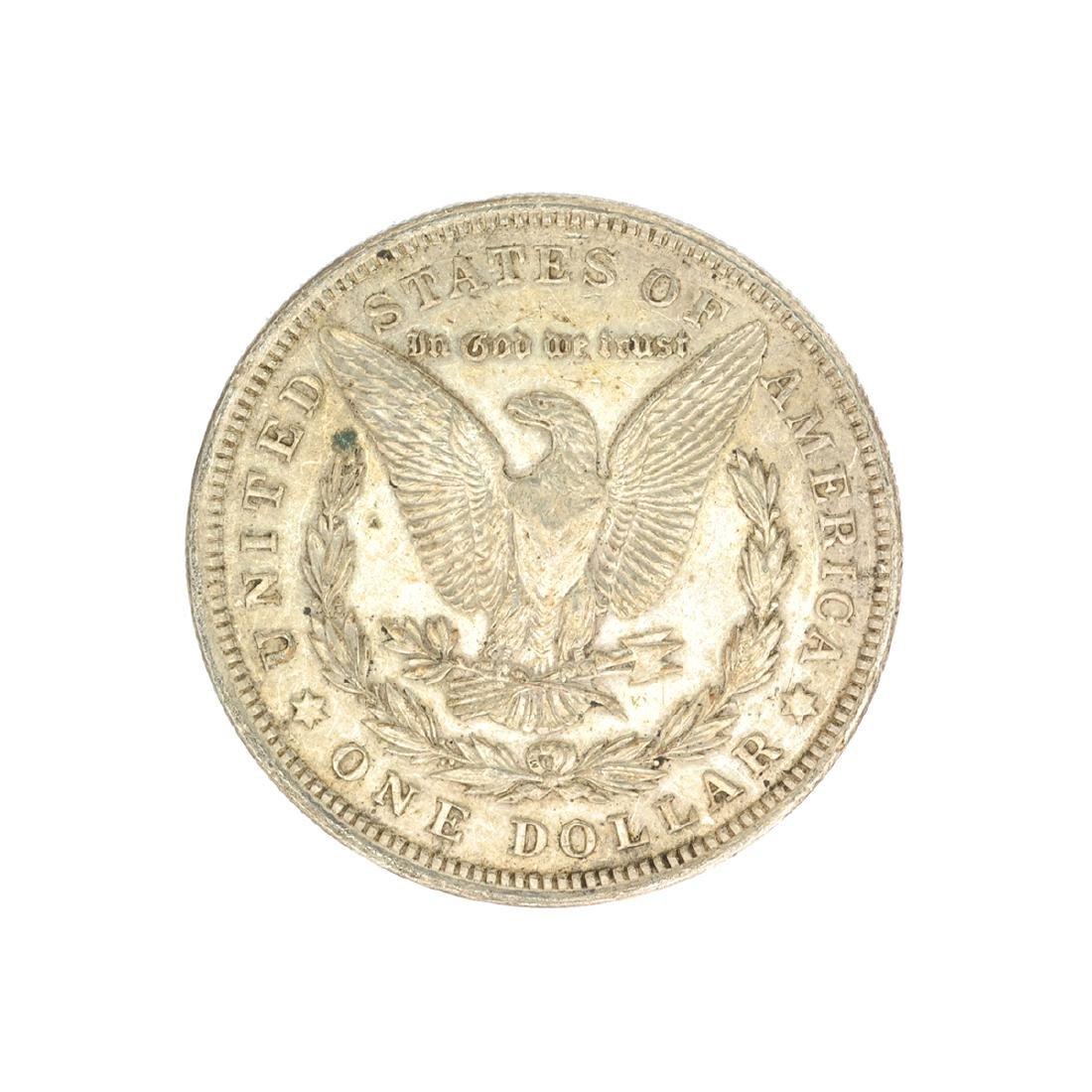 Rare 1921 U.S. Morgan Silver Dollar - 2
