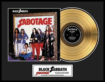 5206: BLACK SABBATH ''Sabotage'' Gold LP