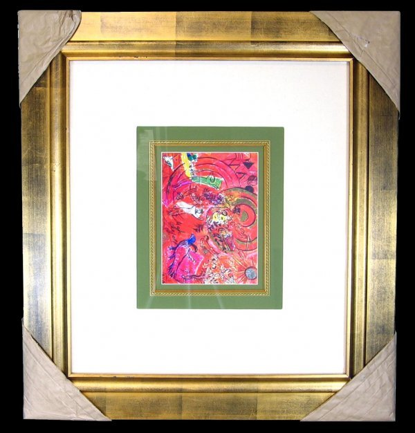 5210: Marc Chagall, Hand Signed, Certified Museum Print