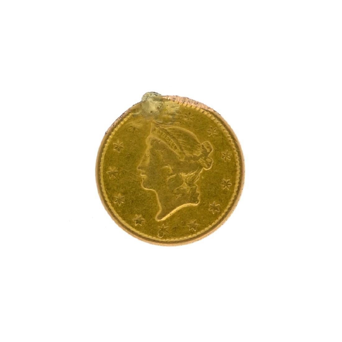 *1852 $1 Liberty Head Gold Coin (DF)