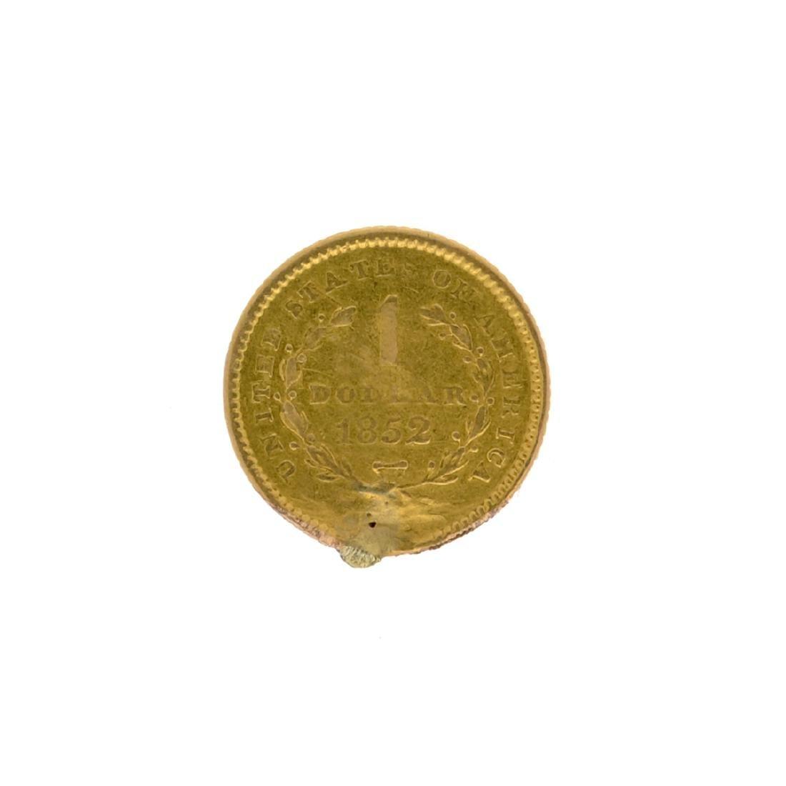 *1852 $1 Liberty Head Gold Coin (DF) - 2