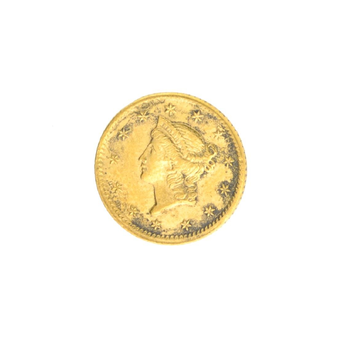 Very Rare 1851 $1 U.S. Liberty Head Gold Coin Great