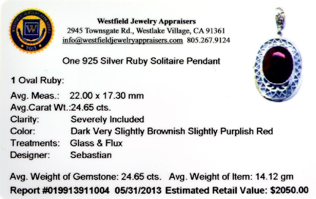 APP: 2k Fine Jewelry Designer Sebastian 24.65CT Oval - 2