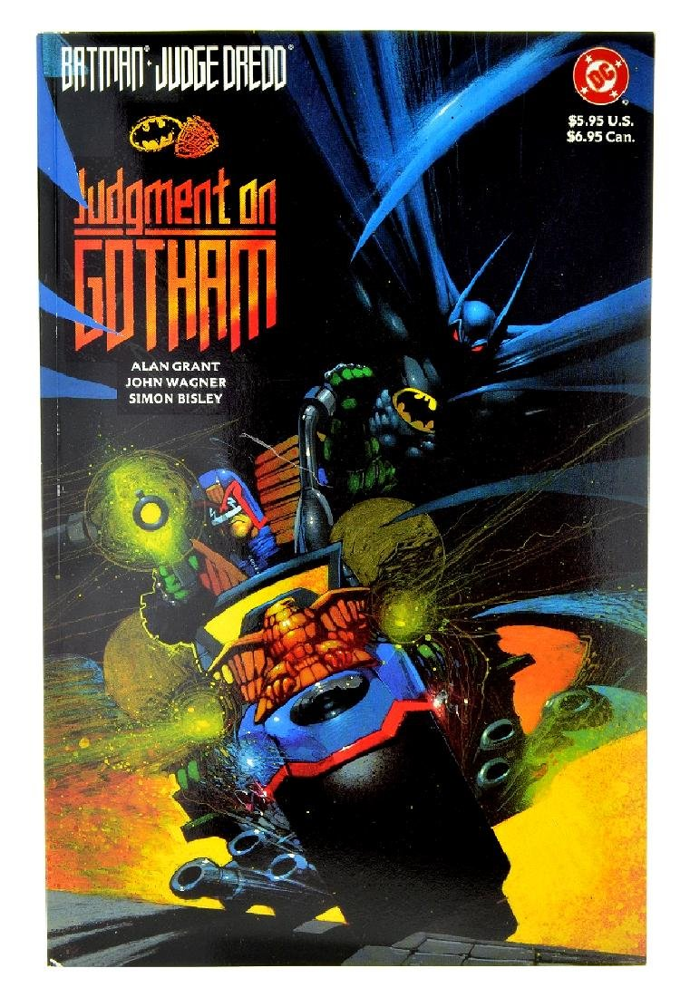 Batman Judge Dredd Judgment on Gotham (1991) Issue  1