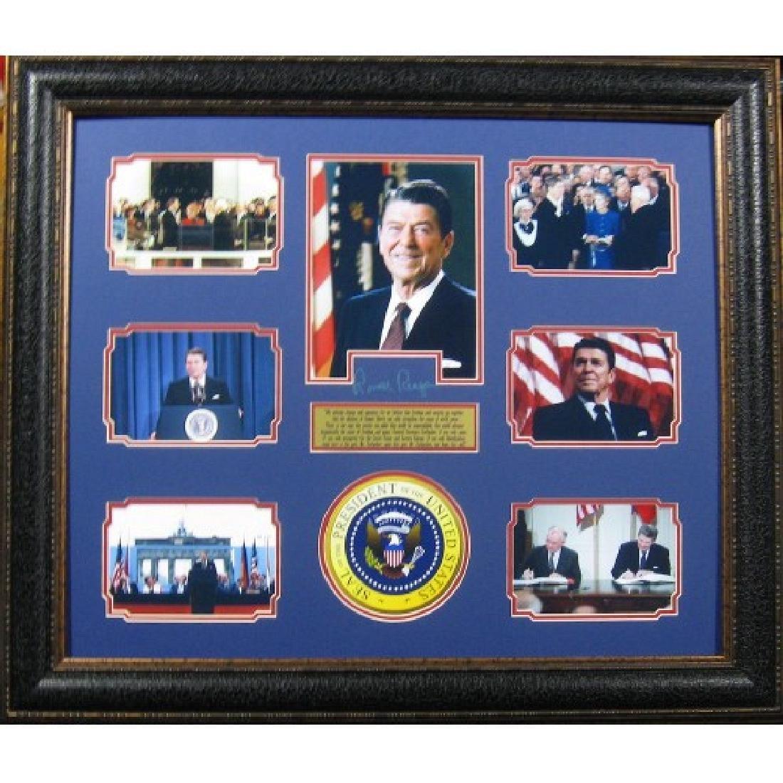 Ronald Reagan Wall Speech Engraved