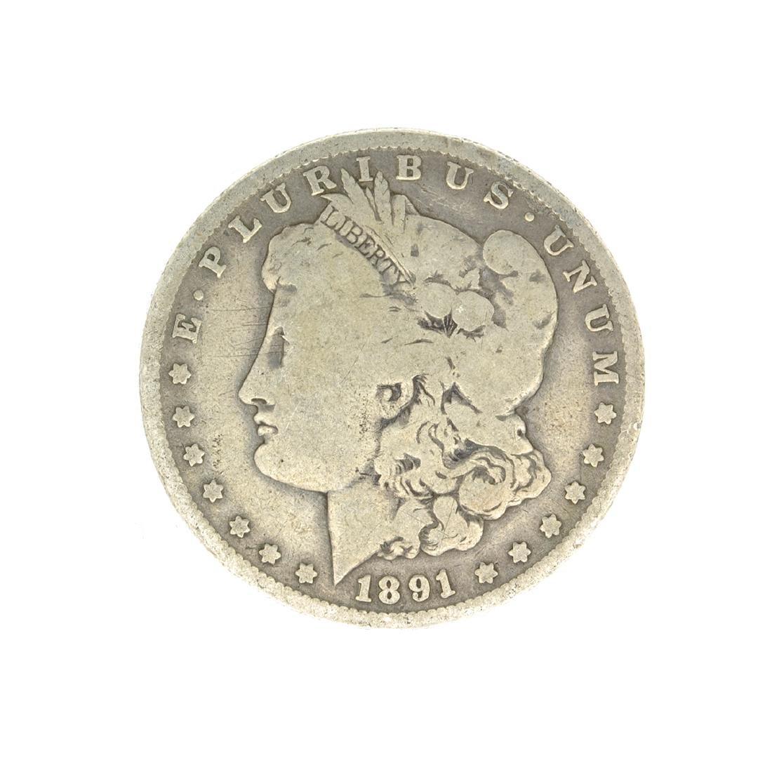 Rare 1891-O U.S. Morgan Silver Dollar