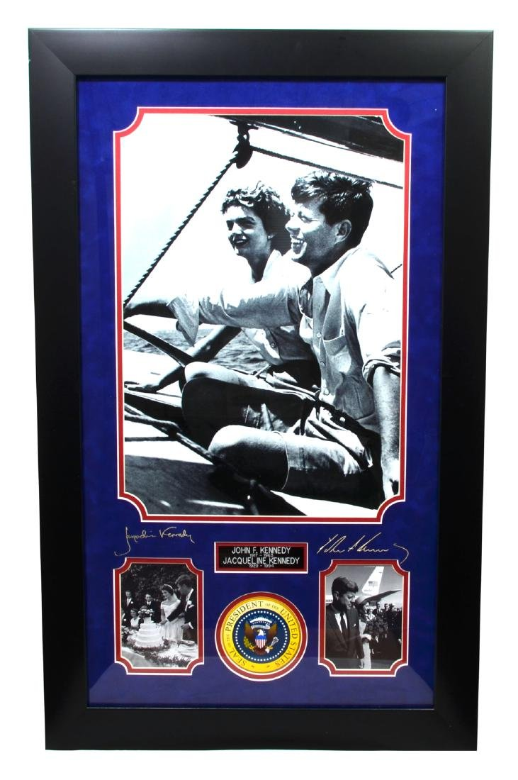 Very Rare John F. Kennedy And Jacqueline Kennedy Plate