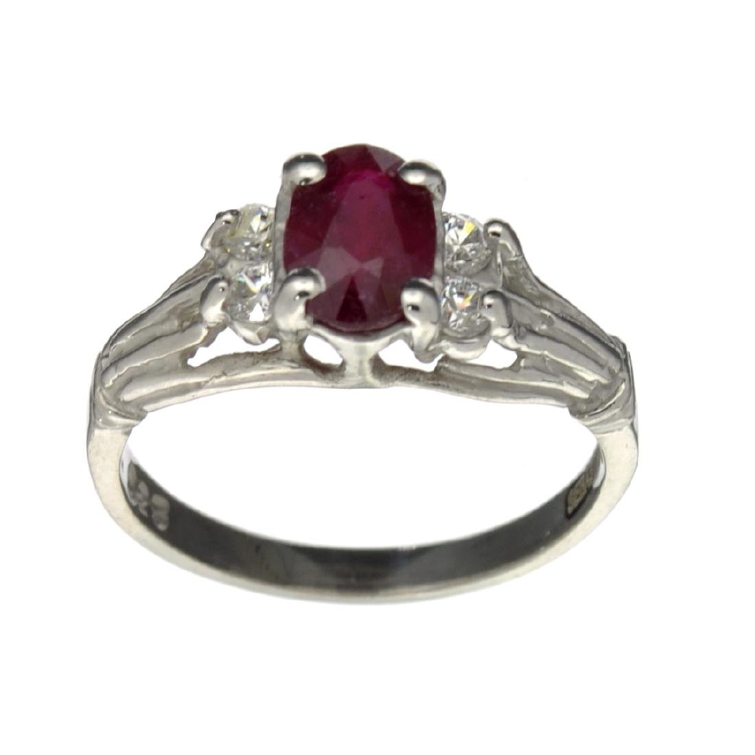 APP: 0.5k Fine Jewelry Designer Sebastian, 1.27CT Ruby