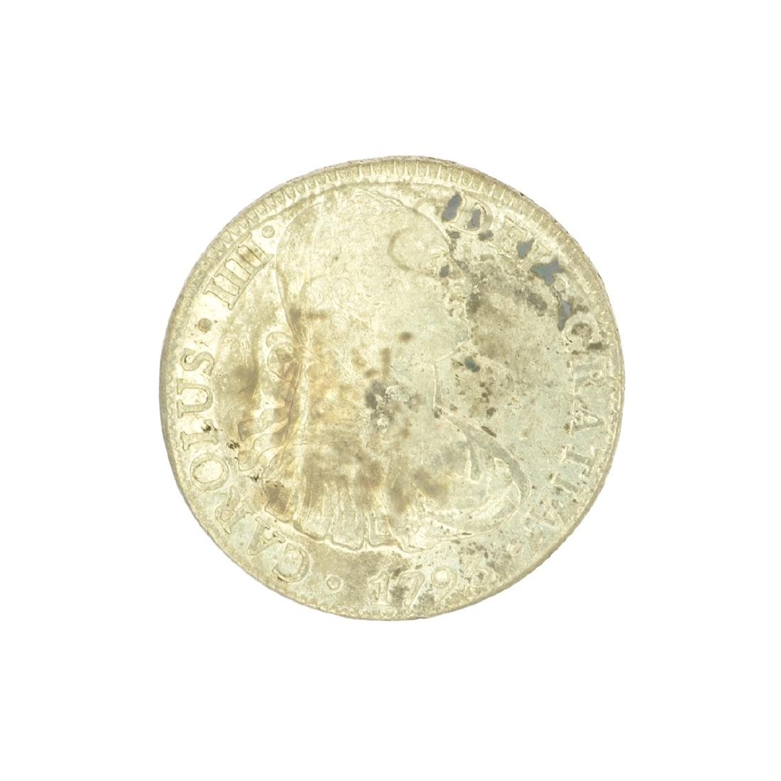 Extremely Rare Early Date 1793 Portrait Reales Very