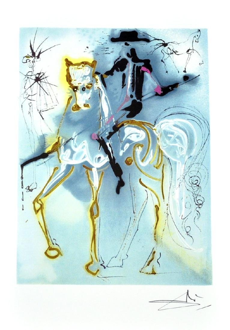SALVADOR DALI (After) La Picador Lithograph, 346 of 500