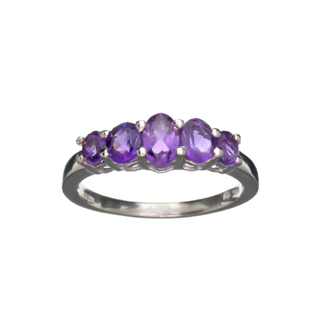 APP: 0.3k Fine Jewelry 1.43CT Oval Cut Purple Amethyst