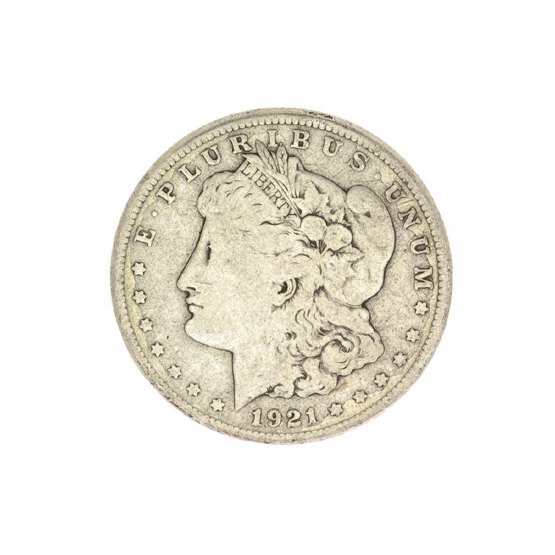 1921-S U.S. Morgan Silver Dollar Coin