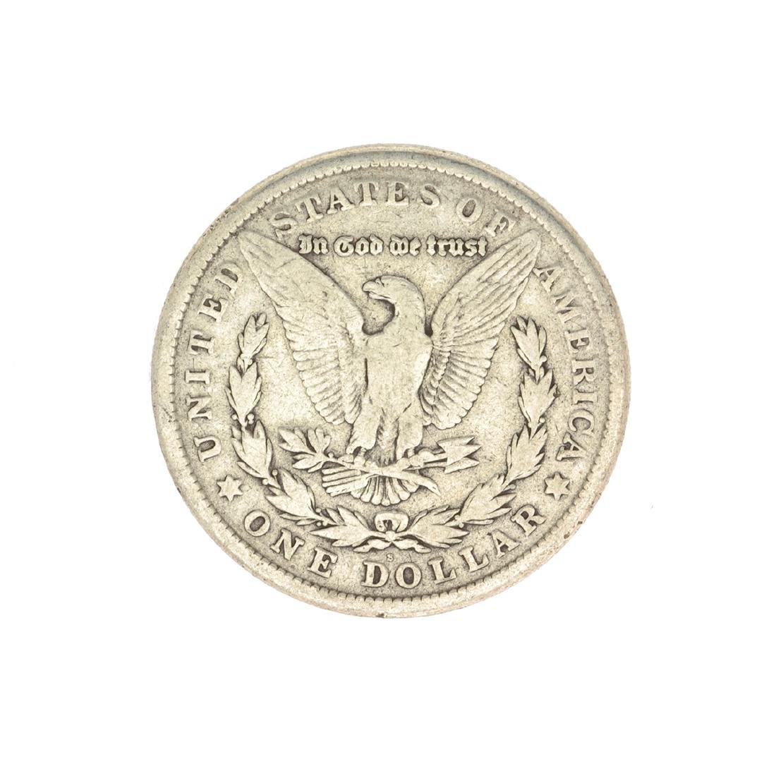 1921-S U.S. Morgan Silver Dollar Coin - 2