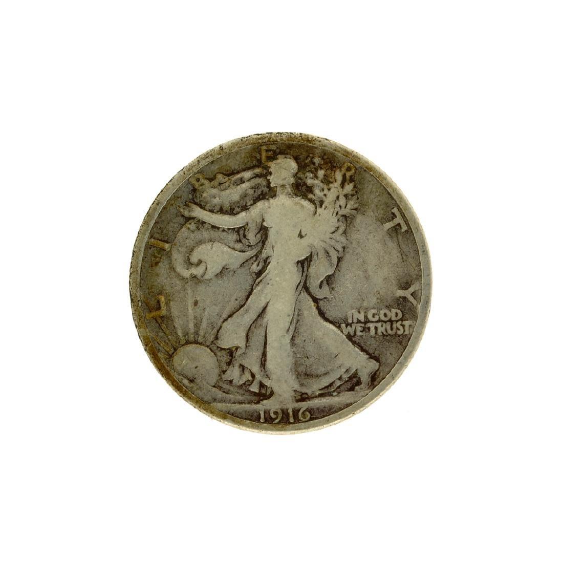1916 Walker Half Dollar Coin