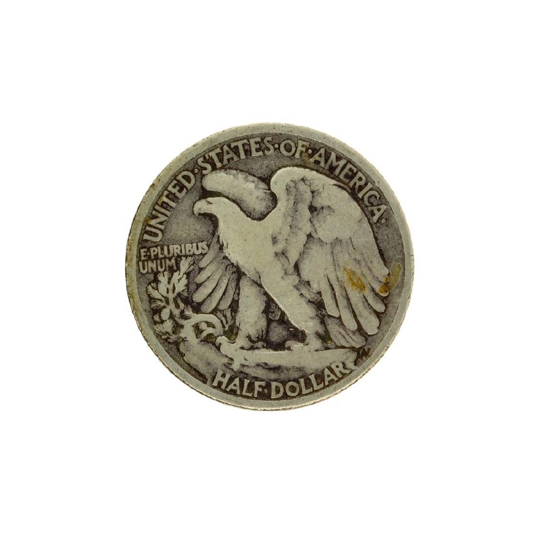 1916 Walker Half Dollar Coin - 2