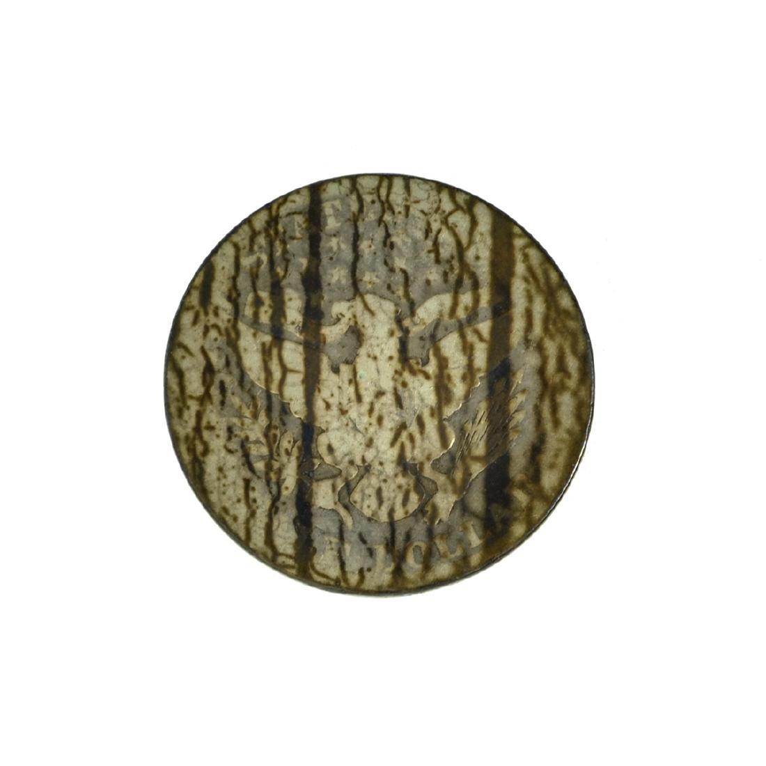 *1896 Barber Half Dollar Coin (JG) - 2
