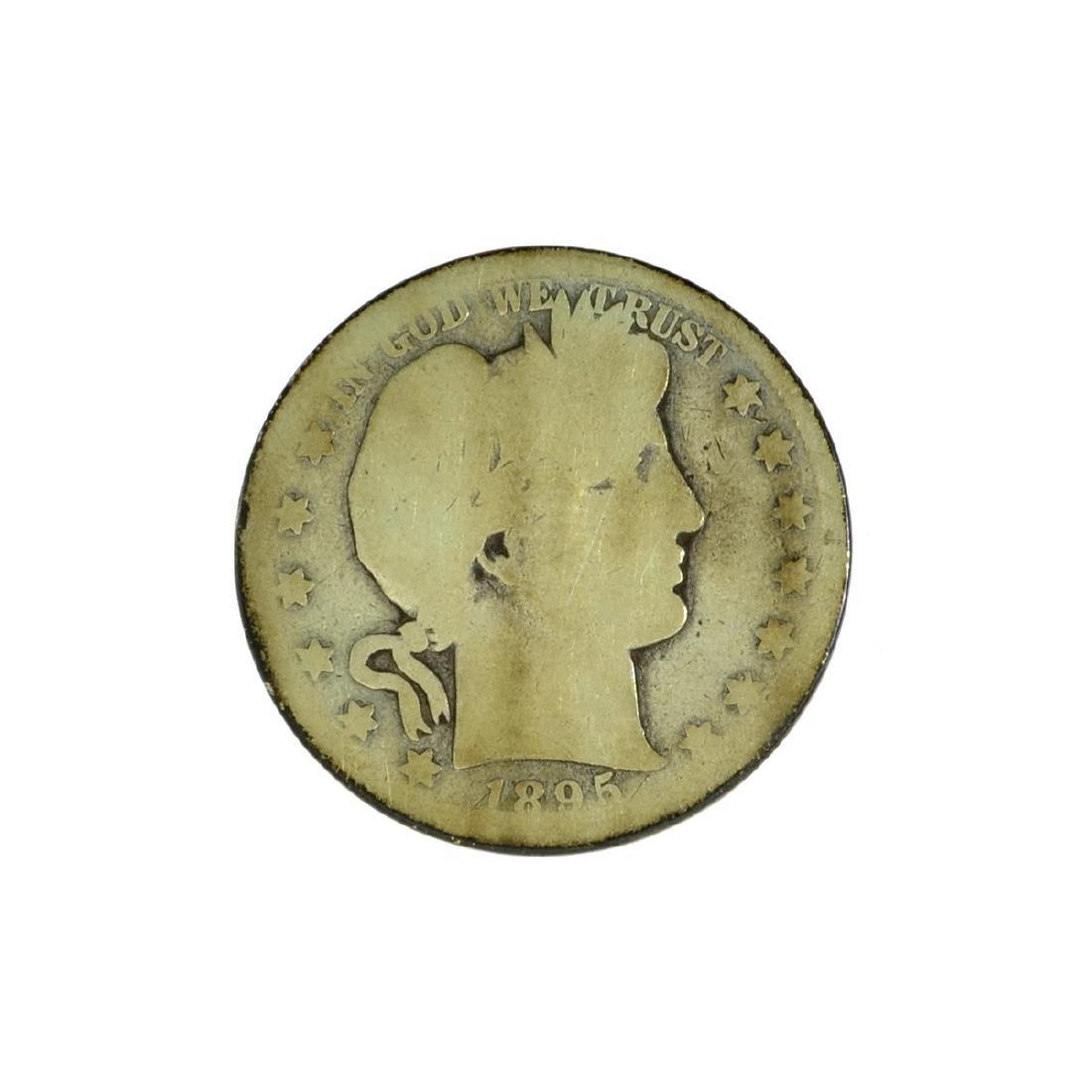 *1895-S Barber Half Dollar Coin (JG)