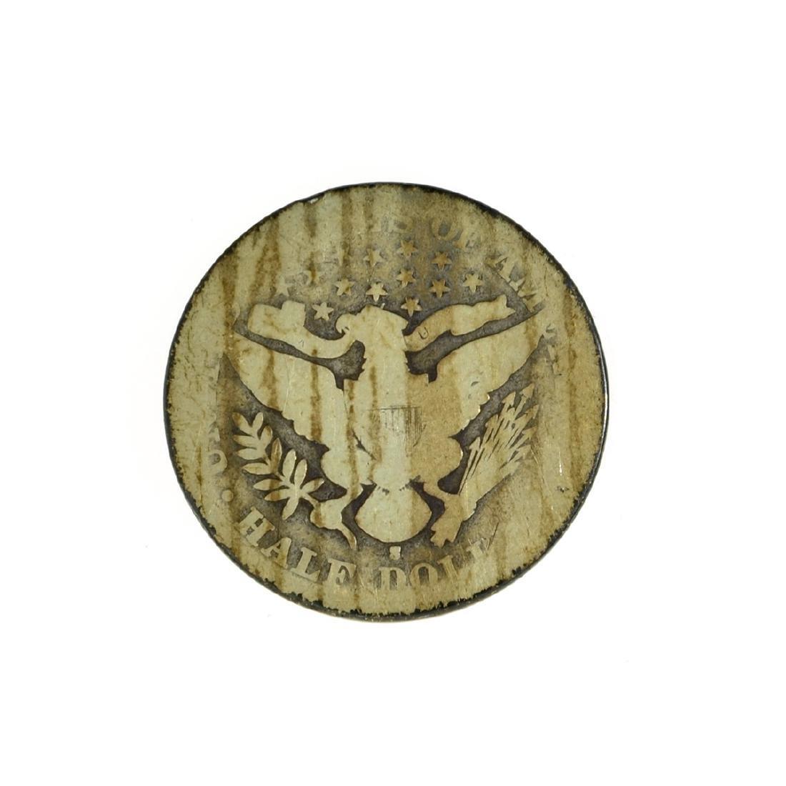 *1895-S Barber Half Dollar Coin (JG) - 2