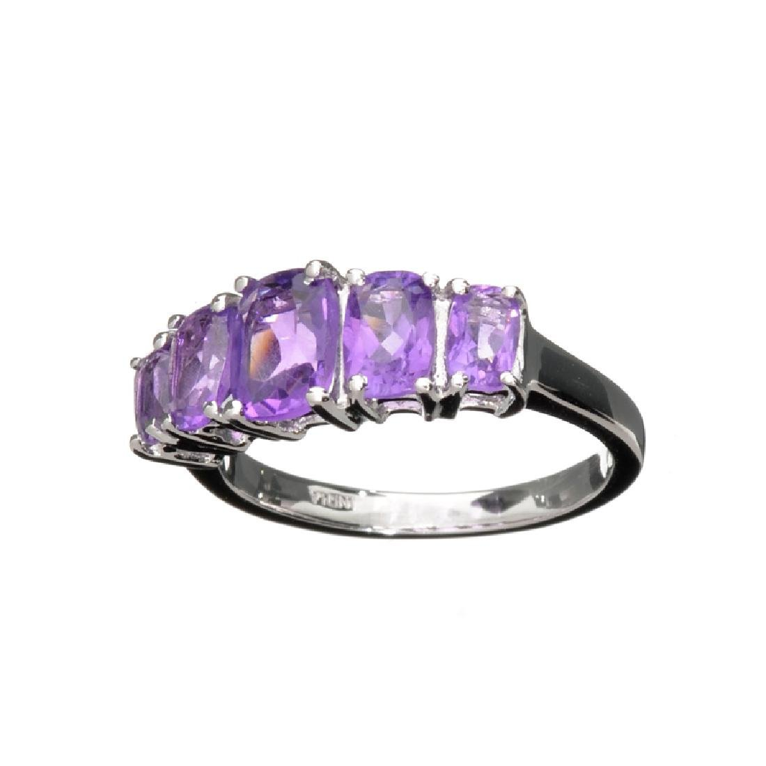 APP: 1k Fine Jewelry 1.50CT Oval Cut Purple Amethyst