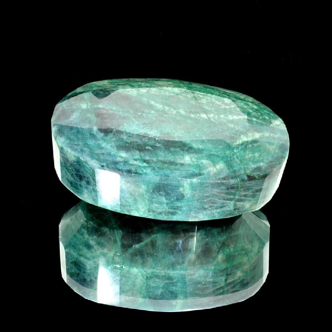 APP: 7k 1,745.00CT Oval Cut Green Beryl Emerald