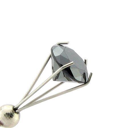 22: 1.20CT Rare Black Diamond Gemstone, INVEST!