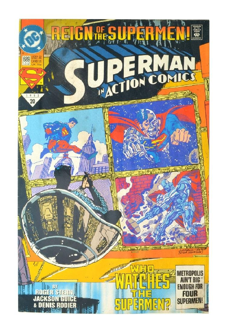 Action Comics (1938 DC) Issue #689