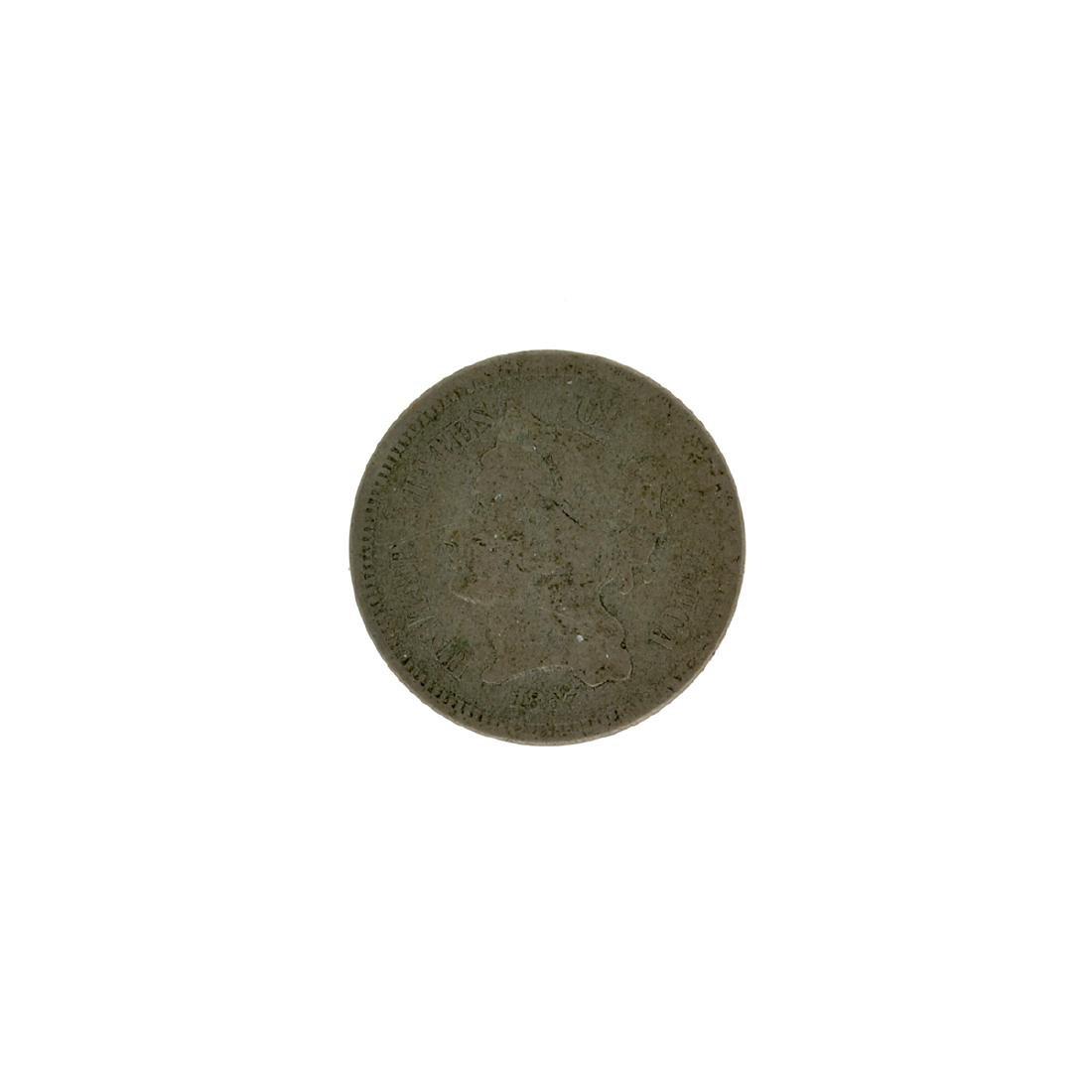 1867 Three Cent Coin