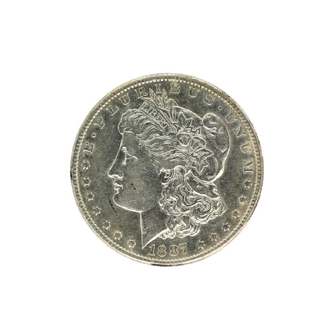 1887 Morgan Silver Dollar Coin
