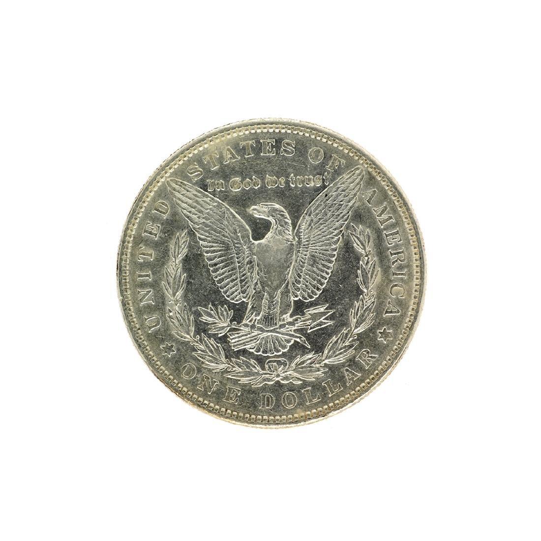 1887 Morgan Silver Dollar Coin - 2