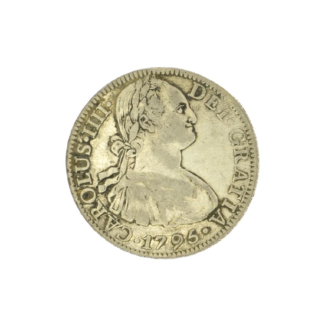 Extremely Rare Early Date 1795 Portrait Reales Very