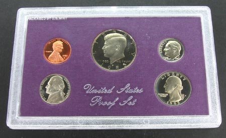2000: 1985 US Proof Set Coin, COLLECT!