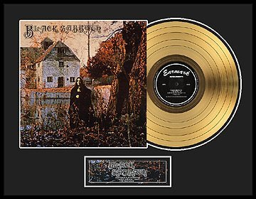 2028: BLACK SABBATH ''Black Sabbath'' Gold LP
