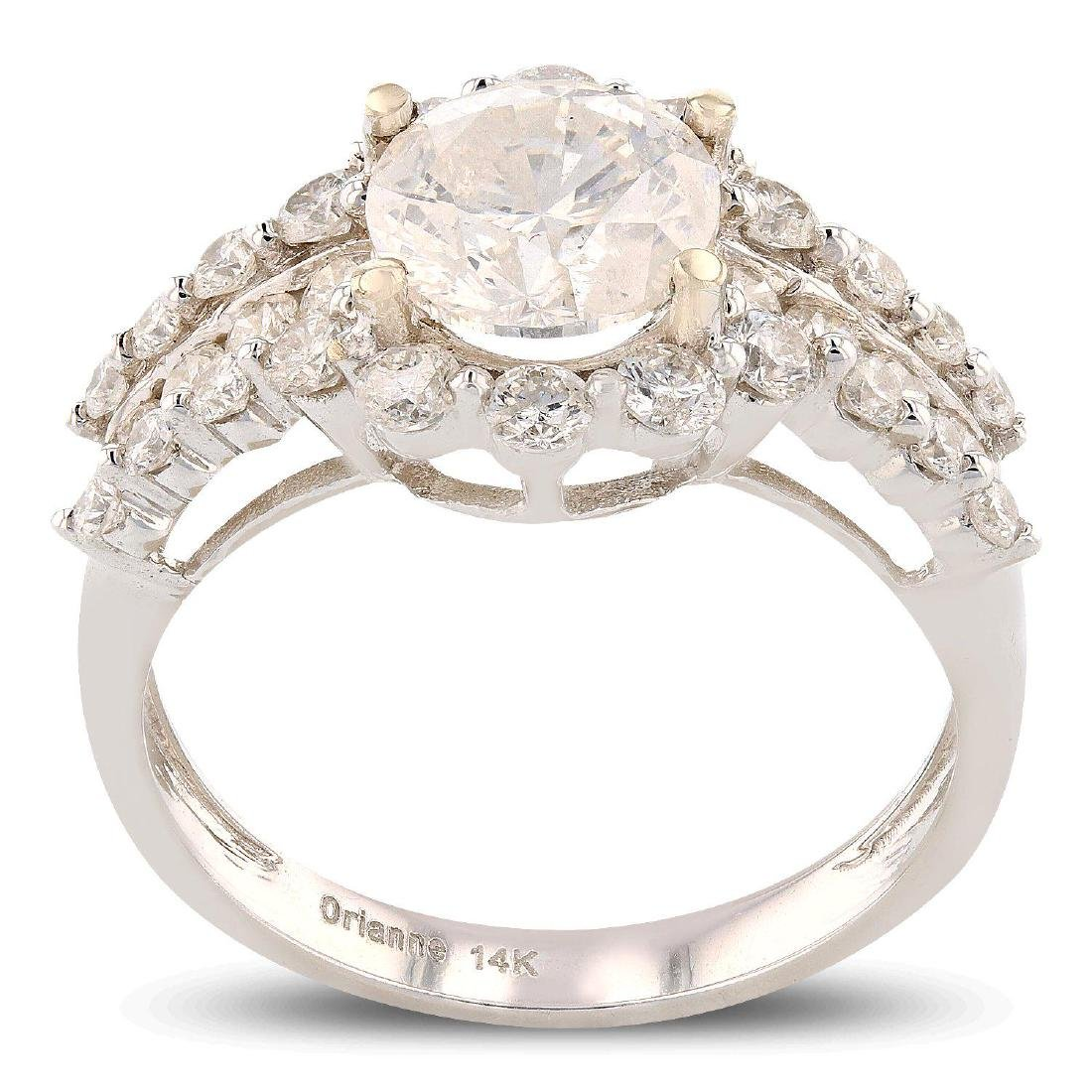 APP: 24.6k *1.64ct SI-3 CLARITY CENTER Diamond 14K