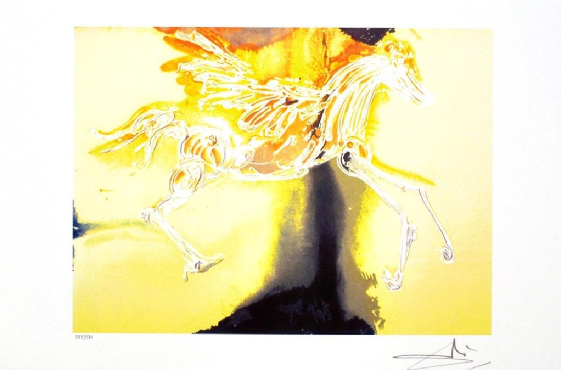 SALVADOR DALI Pegasus Lithograph, 29 of 500