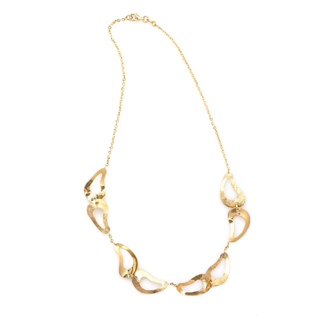 *Fine Jewelry 14 KT Gold, Diamond Cut, Oval Link,
